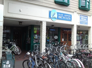 Bike Shops In Eugene Oregon Used Bikes Blue Heron bike shop on